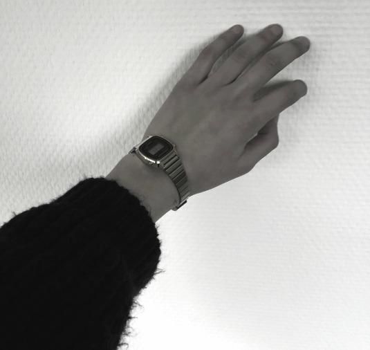 hand zwart wit 1